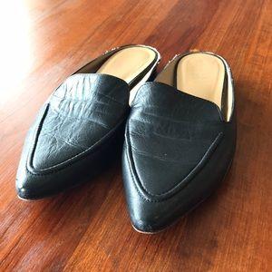 Franco Sarto size 8.5 black mule